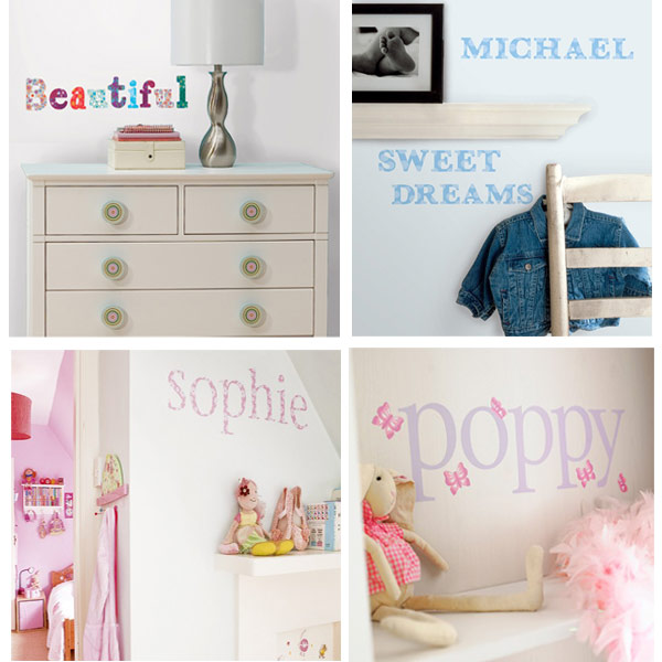 stickers lettres adh sives d coratives le blog de val rie. Black Bedroom Furniture Sets. Home Design Ideas