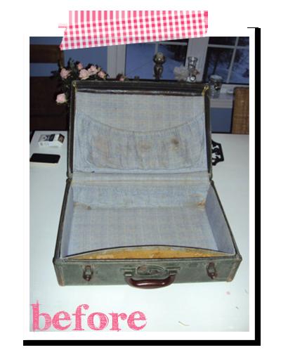 Comment faire d une valise vintage une birthday box le blog de val rie - Comment ranger une valise ...