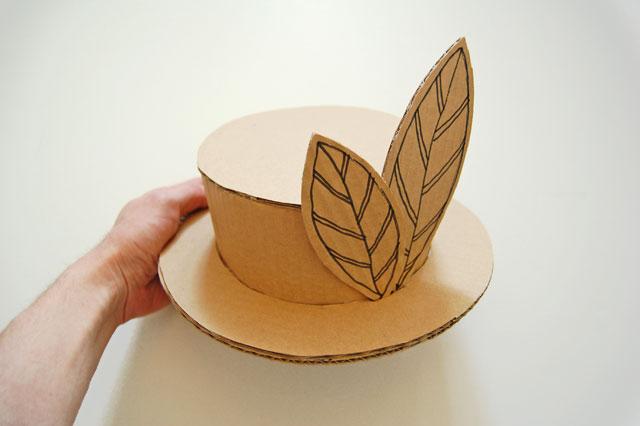 Ohhh le beau chapeau le blog de val rie - Chapeau en carton a decorer ...