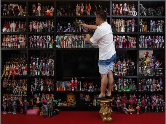 collectionneur de Barbie