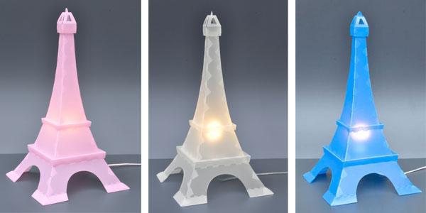 Les lampes pour enfants un vaste choix le blog de val rie - Lampe tour eiffel ...