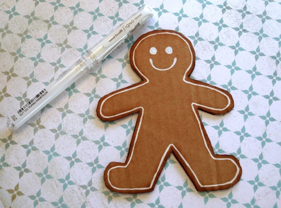 gingerbread man DIY4