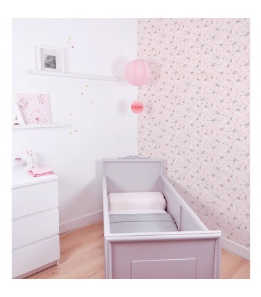 le papier peint intiss pour chambre d enfant le blog de val rie. Black Bedroom Furniture Sets. Home Design Ideas