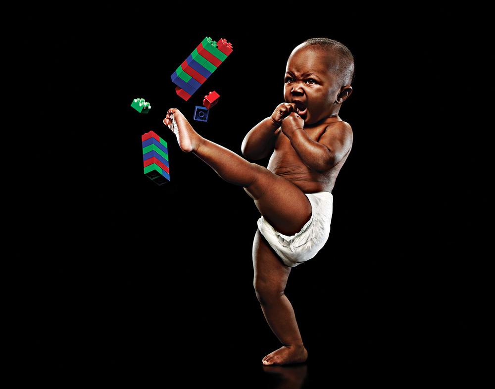 Karate-Baby
