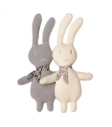 doudous-les-2-lapins-jumeaux-trousselier
