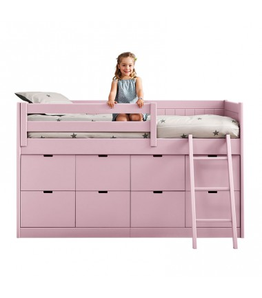 lit sureleve enfant 8 box de rangement bahia asoral le blog de val rie. Black Bedroom Furniture Sets. Home Design Ideas
