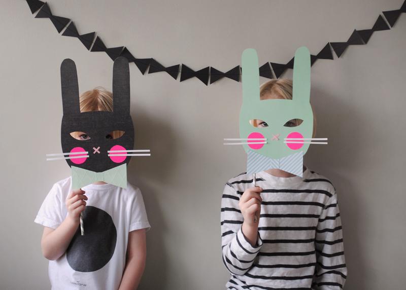 Masques bunny