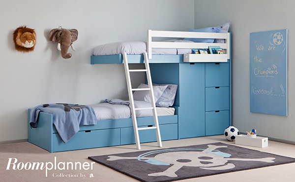 Les lits superpos s la solution gain de place le for Chambre enfant gain de place